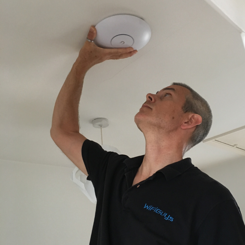 WiFiGuys install wireless access points