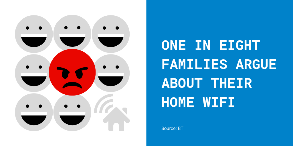WiFi improvements help prevent family arguments