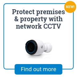 Network IP HD CCTV video camera installation