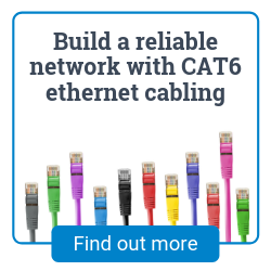 Ethernet network cabling installation